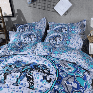 Elephant Ocean Bedding Set 3pcs bedding set WickedAF