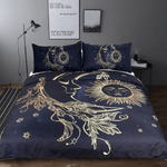 Sun and Moon Bedding Set 3pcs bedding set WickedAF