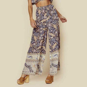 Boho Wide Leg Pants WickedAF