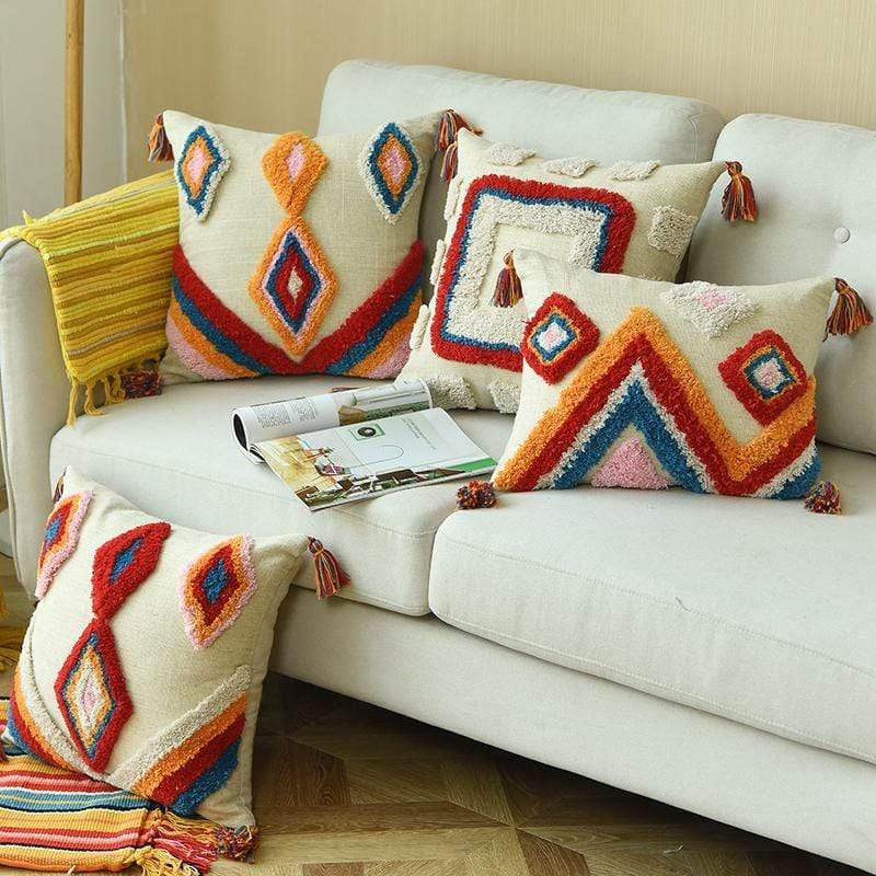 WickedAF Colorful Moroccan Styled Cushion Covers