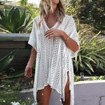 Crochet Beach Cover Up Dress WickedAF