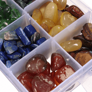 WickedAF crystals Natural Quartz Stone Healing Crystals Set