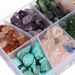 Natural Quartz Stone Healing Crystals Set crystals WickedAF