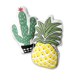 Cactus and Pineapple Stuffed Cushions cushion WickedAF