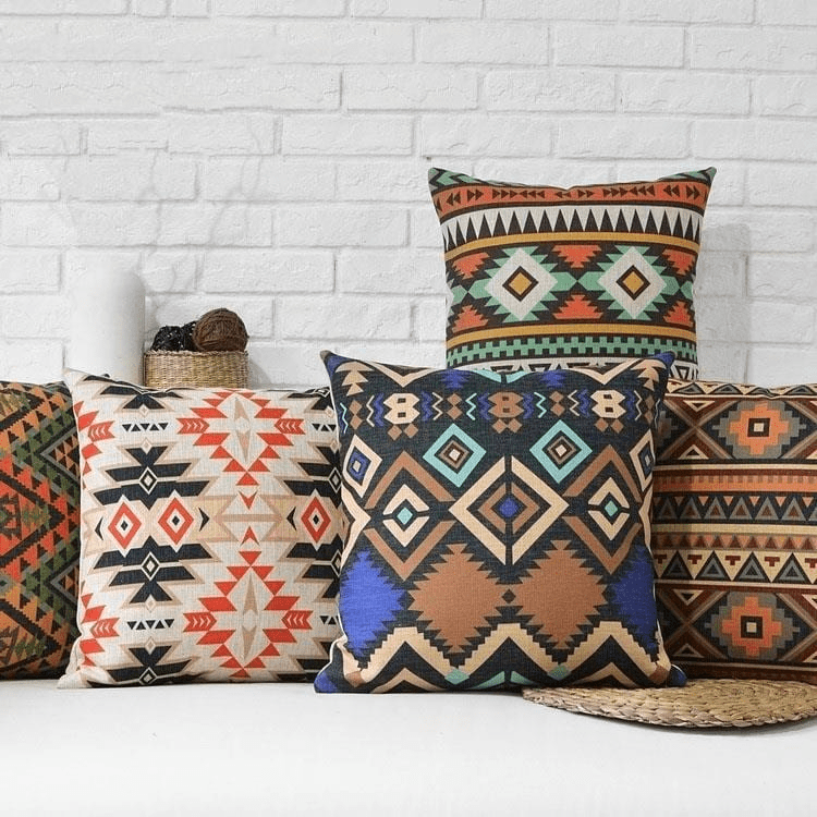 Aztec Lights Cushion Covers (5 Styles) Cushion Cover WickedAF