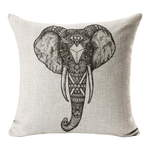 Tribal Elephant Cushion Cover Cushion Cover WickedAF