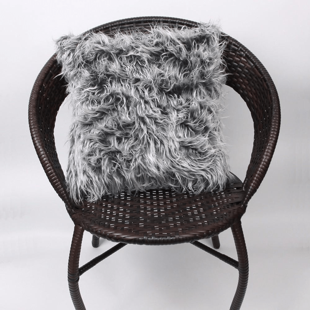 Plush Faux Fur Cushion Cover Cushion Cover WickedAF