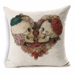 Sugar Skull Alternative Cushion Covers Cushion Cover WickedAF