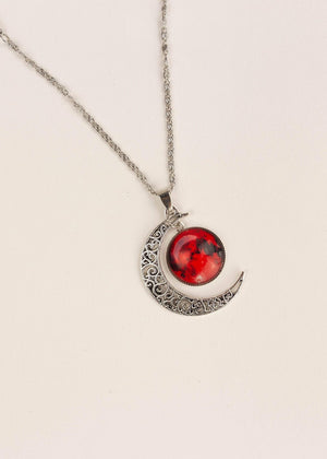 Double Moon Necklace (8 Colors) WickedAF