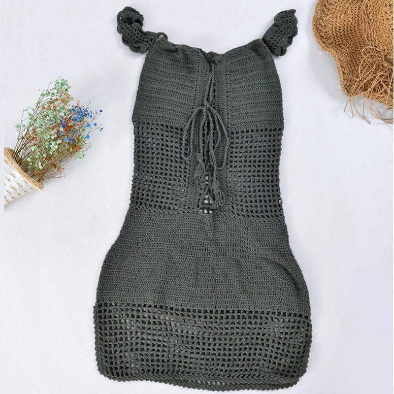 Beach Crochet Dress (2 Colors) dress WickedAF