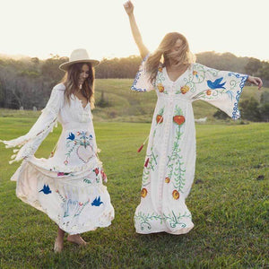 Free Spirit Boho Dress dress WickedAF