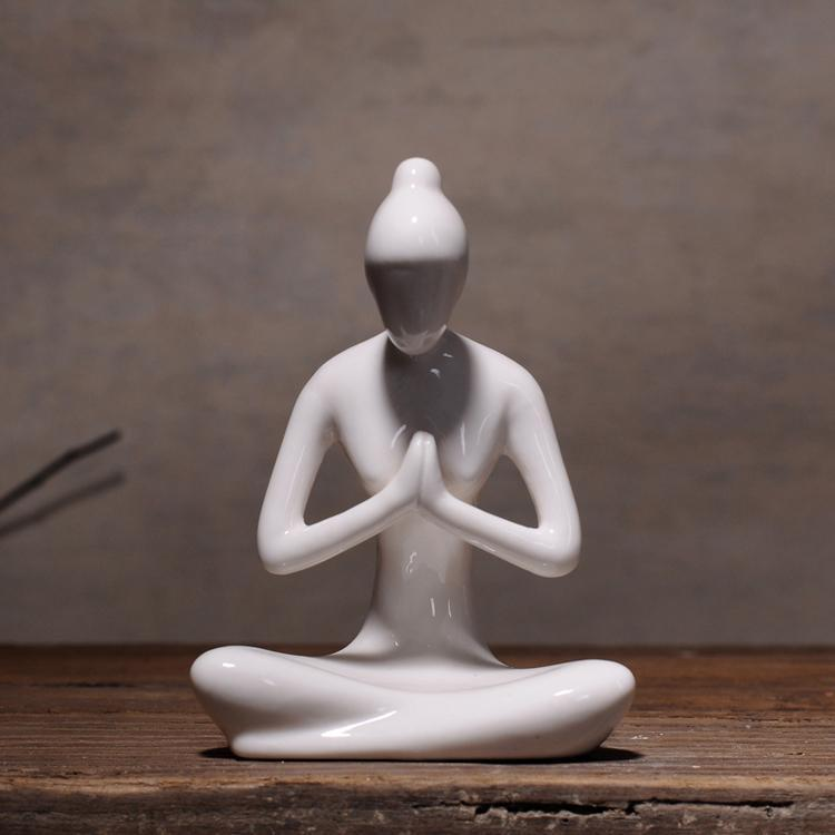 The Modern Yoga Lady Statues figurine WickedAF C