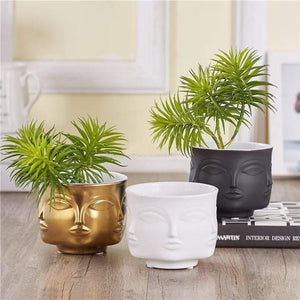 Buddha Head Plant Pot flower pot WickedAF