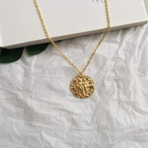 Zodiac Sign Coin Necklaces WickedAF Gemini