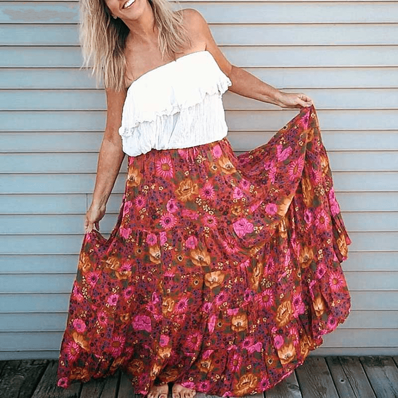 GEMMA Maxi Skirt WickedAF