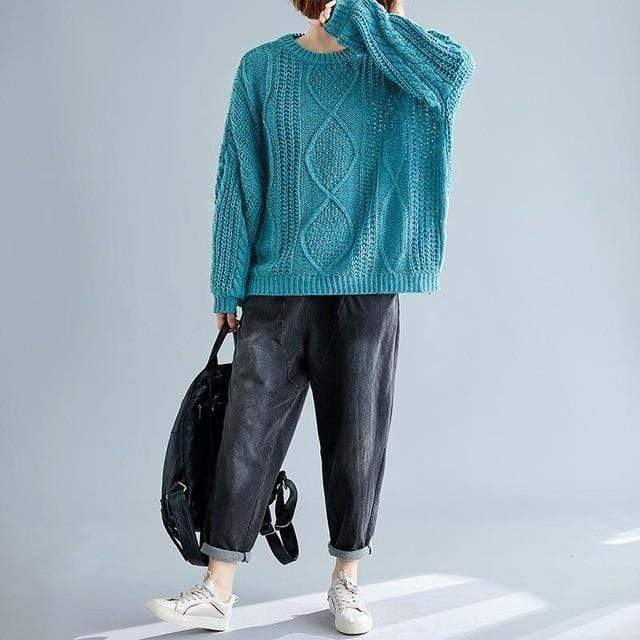 Chunky Speckled Sweater (4 Colors) WickedAF Green