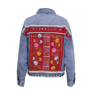 WickedAF Gypsy Dancer Denim Jacket