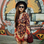 Gypsy Spells Floral Dress WickedAF