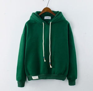 Thick Casual Hoodie (7 Colors) hoodie WickedAF Dark Green One Size