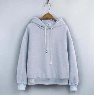 Thick Casual Hoodie (7 Colors) hoodie WickedAF Gray One Size