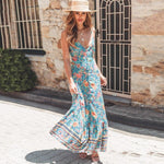 Ida Floral Maxi Dress WickedAF