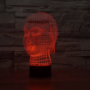 Buddha Hologram Effect Lamp Lamp WickedAF