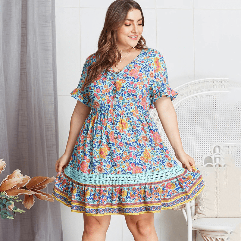 PLUS SIZE Oskar Mini Dress WickedAF