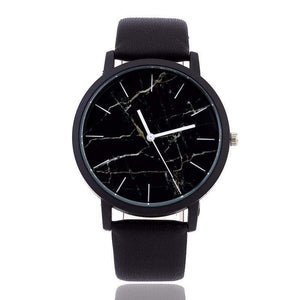 Minimal Marble Face Watch WickedAF