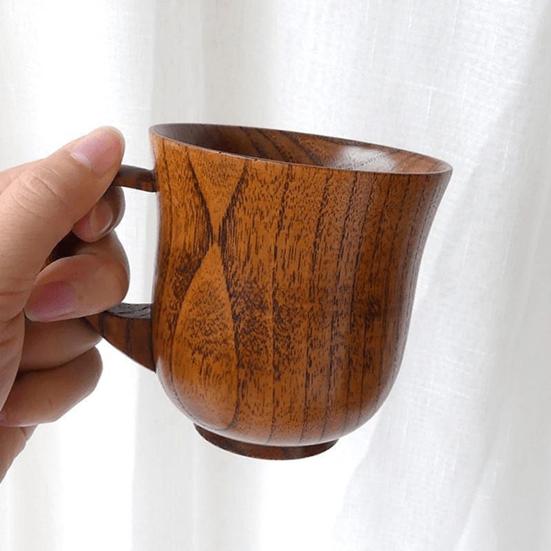 Wooden Coffee Mug Mugs WickedAF