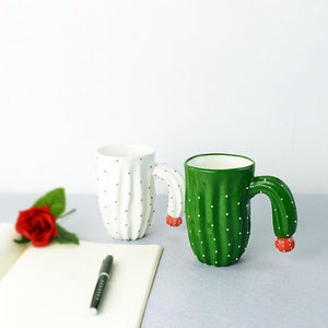 Cactus Coffee Mug Mugs WickedAF