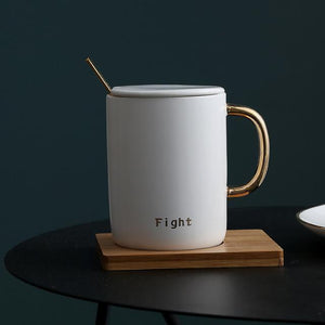 Fight Hero Ceramic Mugs Mugs WickedAF Fight