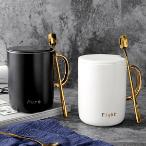 Fight Hero Ceramic Mugs Mugs WickedAF