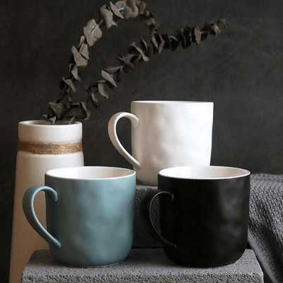Solid Color Ceramic Mugs Mugs WickedAF