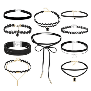 Choker Necklaces Pack 10pcs necklace WickedAF