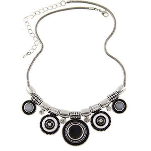 Native Boho Necklace Necklace WickedAF black