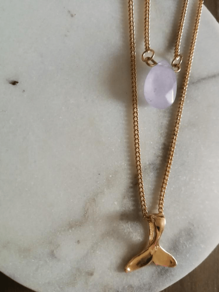 Mermaid Moonstone Necklace Necklace WickedAF
