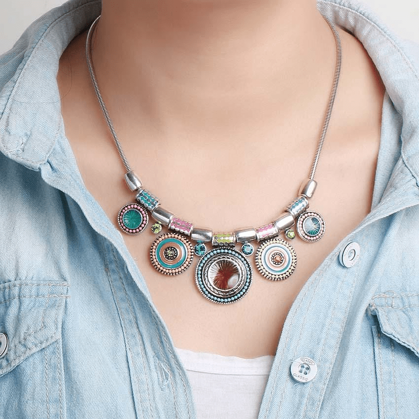 Native Boho Necklace Necklace WickedAF