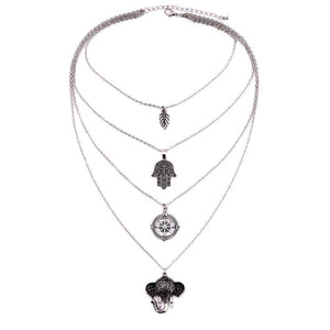 WickedAF Necklace Silver The Karma Necklace