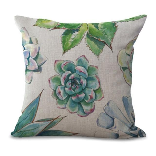 Succulent Pillow Cases pillow cases WickedAF 1