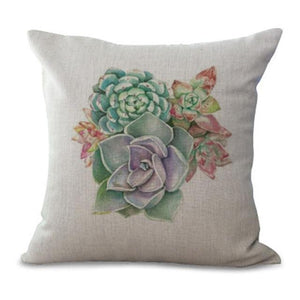 Succulent Pillow Cases pillow cases WickedAF 3