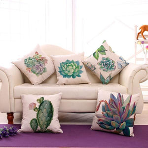 Succulent Pillow Cases pillow cases WickedAF