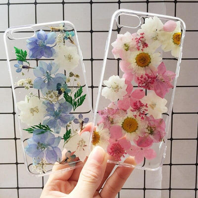 Pressed Flowers Phone Case For iPhone WickedAF