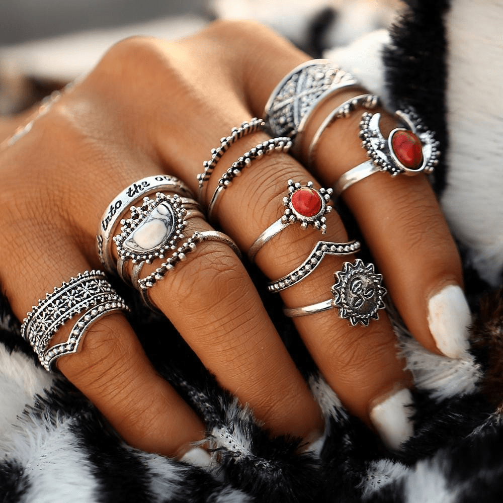 Celestial Ring Set 14pcs Ring Set WickedAF