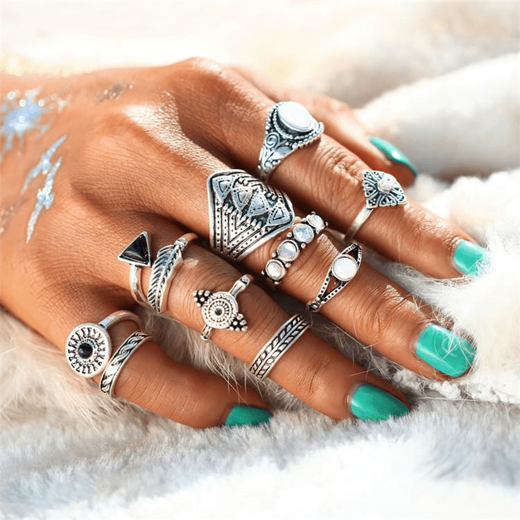 Amazona Stackable Ring Set Ring Set WickedAF