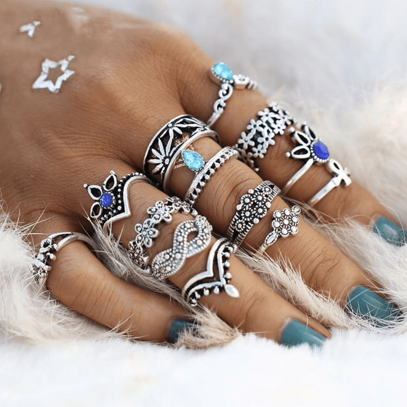 Bondi Ring Set 13 pcs Ring Set WickedAF