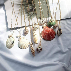 Sea Shell Pendant Necklace (13 Styles) WickedAF
