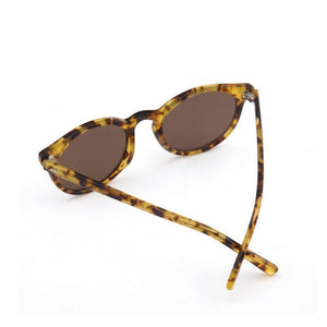 Tortoise Shell Vintage Round Sunglasses sunglasses WickedAF