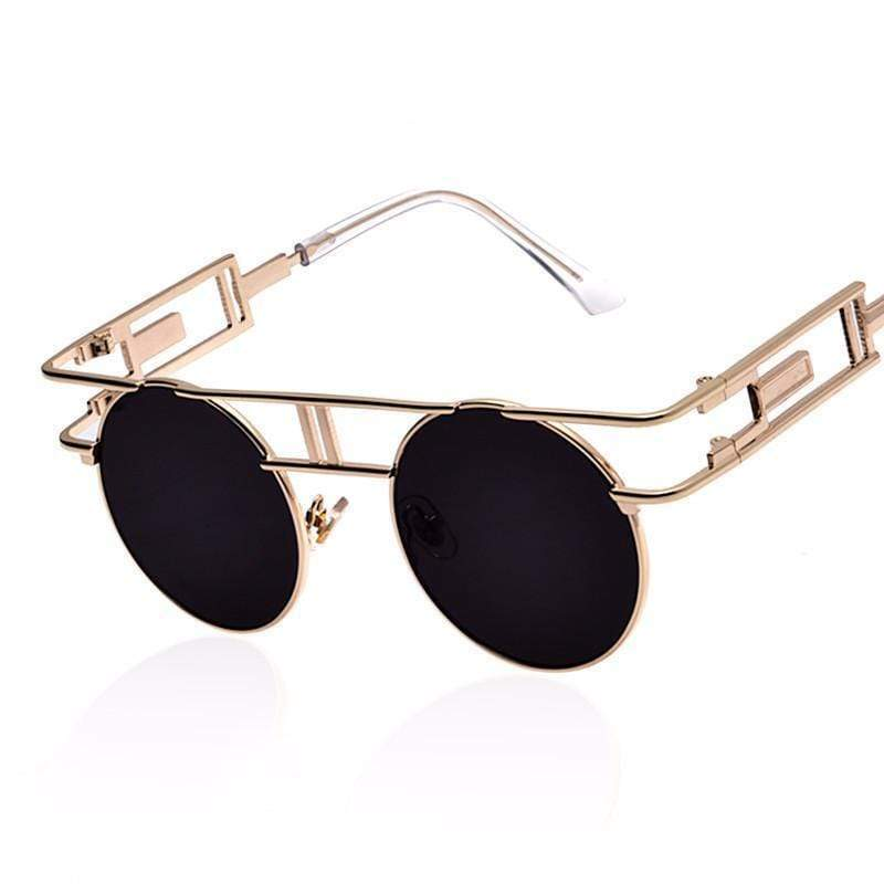 Retrofutura Vintage Round Sunglasses sunglasses WickedAF