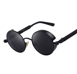 Steampunk Vintage Round Sunglasses sunglasses WickedAF