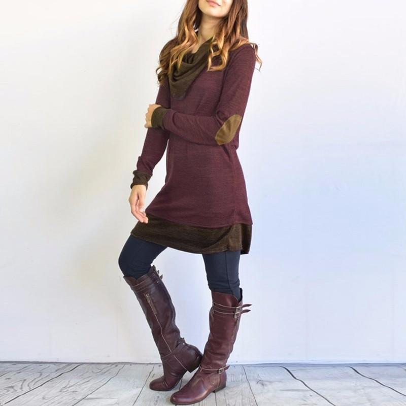 Hippie Sweater Dress (2 Colors) sweater WickedAF